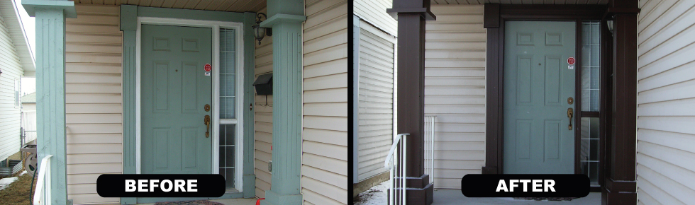 Calgary Exterior Doors | Capping and Cladding