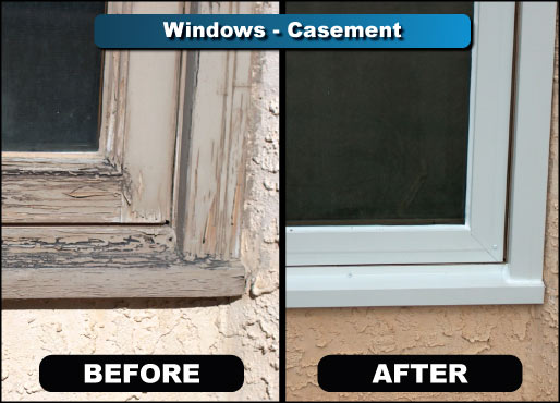 windows painting capping cladding