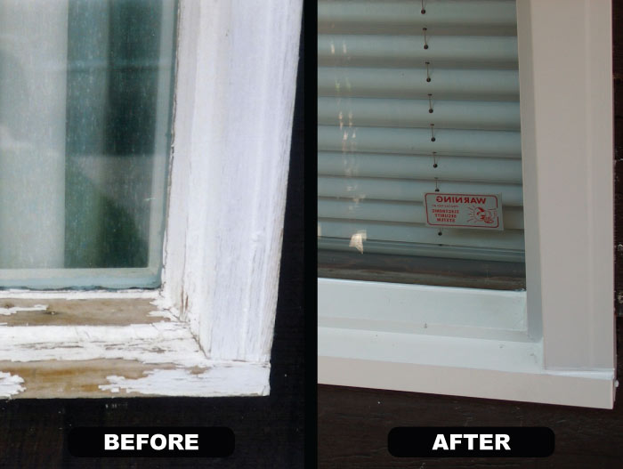 Capping Cladding Sealed Windows